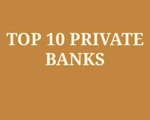 Top 10 Private banks