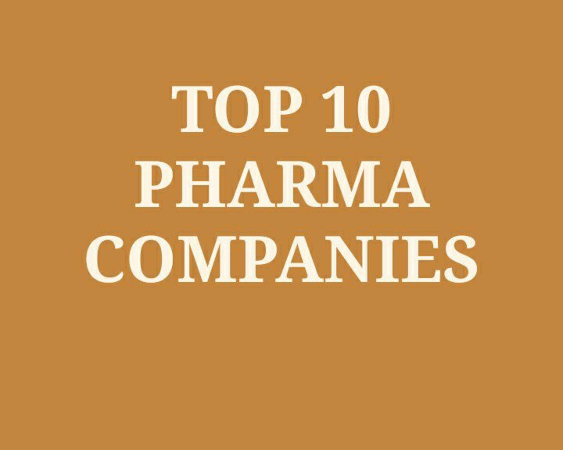 Top Pharma Manufacturing Companies in India