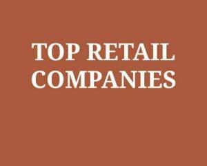 biggest retail companies in india