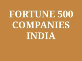 List of Indian company fortune Global 500