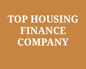 Top Housing Finance Companies in India
