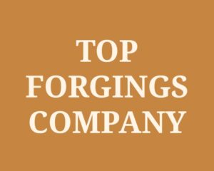 Top Forgings Companies in India