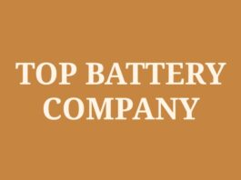 Top Battery Manufacturing Company in India