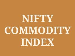 NIFTY Commodities Index