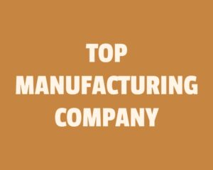 Top 10 Manufacturing companies in India
