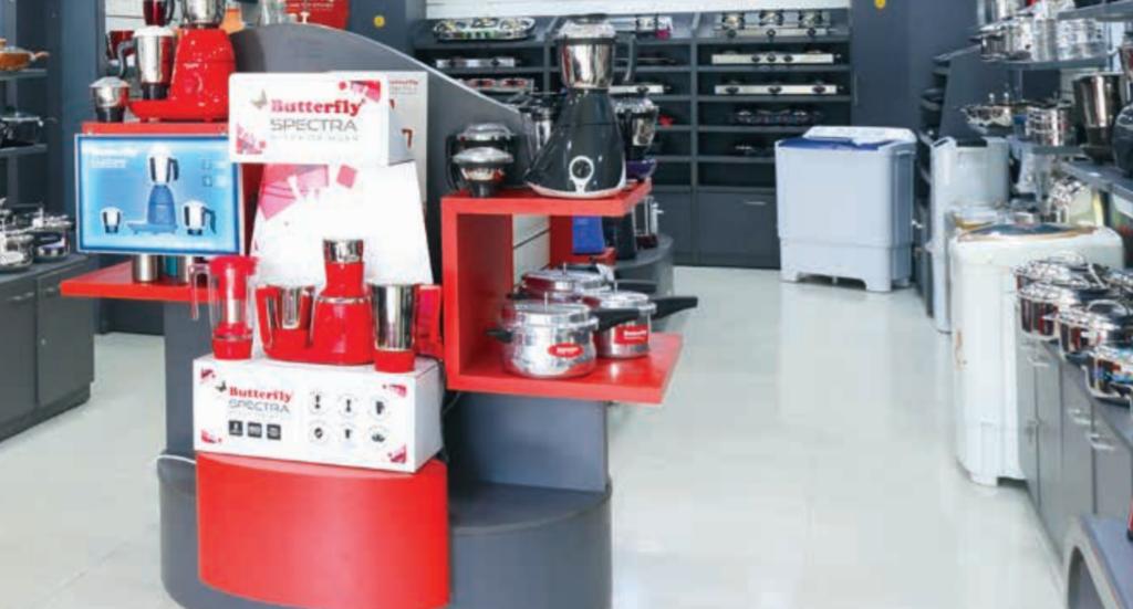 Butterfly Gandhimathi Appliances Ltd brand